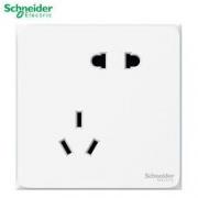 PLUS会员:Schneider 施耐德 二三级插座 白色错位五孔 皓呈系列13.73元(满减)