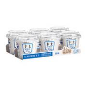 CLASSY·KISS 卡士 低温酸奶 100g*6杯¥17.90 6.4折 比上一次爆料降低 ¥1