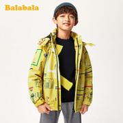 balabala 巴拉巴拉 男童冲锋衣两件套外套¥108.90 2.2折