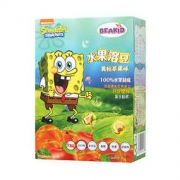 Beakid 海绵宝宝 儿童溶豆24g 黄桃苹果味27元