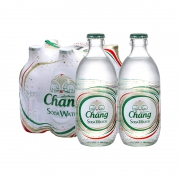 88VIP:Chang 象牌 无糖苏打水 325ml*6瓶*6件94.71元包邮(15.79元 /件)