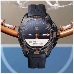 TISSOT 天梭 腾智系列 47.5毫米石英腕表 T121.420.47.051.04