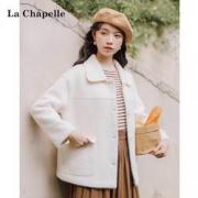 La Chapelle 拉夏贝尔 女士短款毛呢外套 914613515