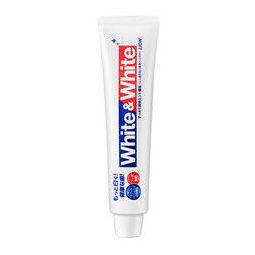 LION 狮王 Lion)White&white亮白牙膏 150g(日本原装进口)