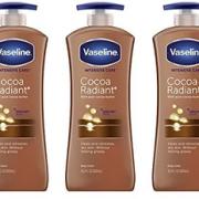 Vaseline凡士林 Radiant可可脂身体乳 600ml*3件凑单到手约¥164.2¥149.80