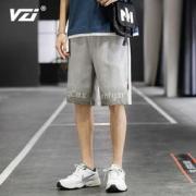 VZI 男士宽松短裤 黑色 m码12.9元包邮(需用券)
