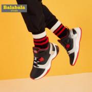 balabala 巴拉巴拉 男童高帮运动鞋