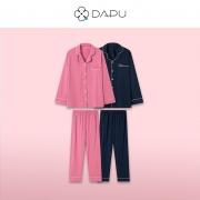DAPU 大朴 情侣睡衣套装  AE3F1220499.4元包邮