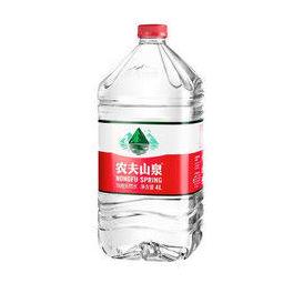 NONGFU SPRING 农夫山泉 饮用水 饮用天然水 4L*4桶 整箱装 桶装水