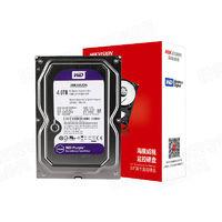 HIKVISION 海康威视 西部数据 WD40PURX 机械硬盘 紫盘 4TB