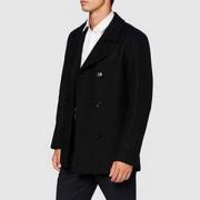 XL码!HUGO Hugo Boss 雨果·博斯 Balno2041 男士羊毛混纺外套50435553  直邮含税到手¥1178.82