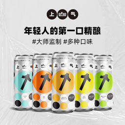 Shang-Chi 上气 桂花风味 比利时小麦轻精酿啤酒 330mL *3听