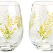 prime会员!东洋佐佐木 不倒翁系列 含羞草玻璃对杯 360ml*2只   含税到手新低¥170.05