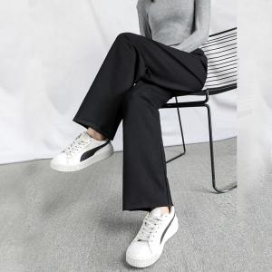 YAYA 鸭鸭羽绒服 DYD56G0050 女士垂感休闲裤