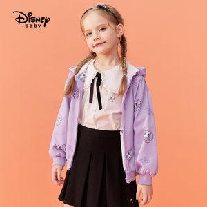 Disney baby 迪士尼  女童连帽外套