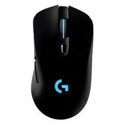 logitech 罗技 Logitech 罗技 G703 2.4G LIGHTSPEED 双模无线鼠标 12000DPI RGB 黑色