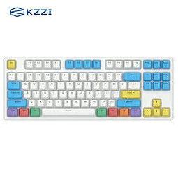 KZZI 珂芝 K87 三模机械键盘 BOX轴