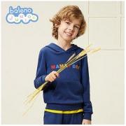 PLUS会员:Baleno 班尼路 男童长袖卫衣 *2件