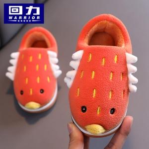 WARRIOR 回力 WST(QR)-009501 儿童棉拖鞋