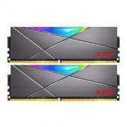 ADATA 威刚 XPG系列 龙耀 D50 DDR4 3200MHz RGB 台式机内存 钛灰 16GB 8GBx2619元