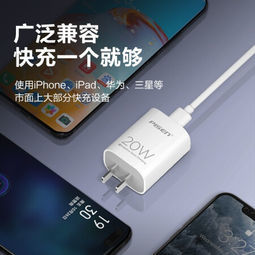 PISEN 品胜 PD20W充电器 Type-C快充电头