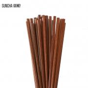 SUNCHA 双枪 铁木筷子 10双12.9元包邮(需用券)