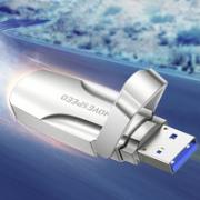 MOVE SPEED 移速 闪V 固态U盘 USB 3.2 闪存盘 128GB¥151.00 7.2折 比上一次爆料降低 ¥8