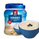 QUAKER 桂格 快煮燕麦片 经典原味 1000g 罐装¥10.62 5.0折 比上一次爆料降低 ¥35.37
