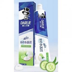 PLUS会员:DARLIE 黑人 超白密泡小苏打牙膏 190g+乐益软毛牙刷1支