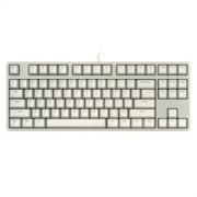 iKBC C200 87键 有线机械键盘 浅灰 Cherry红轴 无光