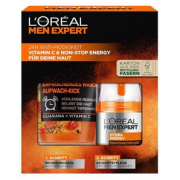 L'Oréal 欧莱雅 Men Expert 男士劲能醒肤套装(洁面膏100mL+保湿霜50mL)