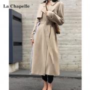LaChapelle 拉夏贝尔  女士中长款风衣  913613522189元包邮