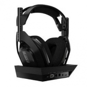 logitech 罗技 A50 耳罩式头戴式无线耳机 黑色