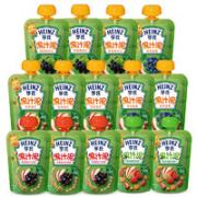 Heinz 亨氏 多口味混合装果汁泥120g*14袋¥51.50 5.2折