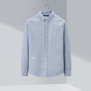 HLA 海澜之家 HNEAD1Q002A 男士牛津纺衬衫79元+6元运费
