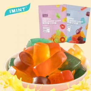 IMINT 流心果汁软糖 QQ糖橡皮糖80g*5