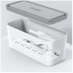 ORICO 奥睿科 CMB-6A 一体式收纳盒6插位排插 1.8m 白色