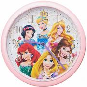 SEIKO精工 儿童迪士尼公主 卡通挂钟 FY935P¥144.74