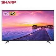SHARP 夏普 4T-M70M5DA 液晶电视 70英寸3679元包邮(需用券)