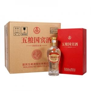 Super会员: 五粮国宾珍藏 52度浓香型白酒 500ml*6瓶整箱