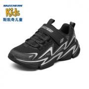 SKECHERS 斯凯奇 403603L-BKNV 男童休闲运动鞋