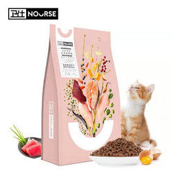 PLUS会员:NOURSE 卫仕 全价幼猫猫粮1.8kg*3