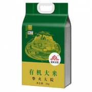 PLUS会员:柴火大院 东北香米 有机大米 5kg