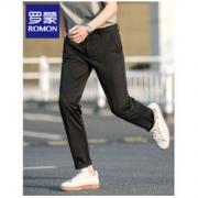 PLUS会员:ROMON 罗蒙 男子薄款宽松直筒长裤 HDF229A69元包邮(需用券)