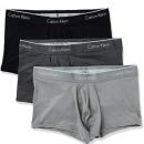 L码!prime会员!Calvin Klein 男士纤维弹力低腰裤 3条装凑单  到手约¥146.73¥133.90