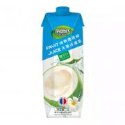 BAIENSHI 佰恩氏 椰子汁 1L*2瓶装18.9元包邮(需用券)