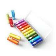 MI 小米 彩虹电池 碱性安全环保电池 5号电池