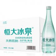 EVERGRANDE SPRING 恒大冰泉 长白山矿泉水 1L*12瓶¥34.78 5.0折 比上一次爆料降低 ¥3.66