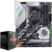 ASUS 华硕 PRIME X570-P主板+AMD 锐龙7 5800X CPU处理器 板U套装