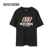 SKECHERS 斯凯奇 女士T恤 L220W168¥65.55 9.5折 比上一次爆料降低 ¥53.45
